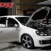 VW GOLF6 GTi APRソフトウエアーインストール AUDI S3 034マウント装着