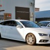 AUDI A7 KW V3車高調 neutrale wheels AUDI RS7 ,S4