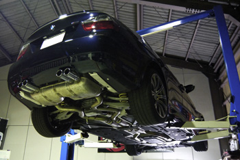 BMW E90 M3 岡山 KW V3車高調