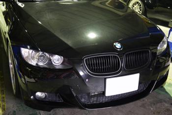 BMW E92 335 オイル交換 elf フルテック 岡山