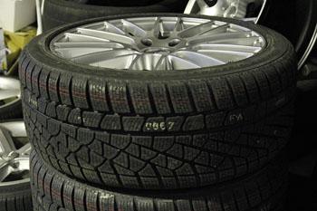 BMW E61 525i 19インチ スタッドレスタイヤ交換 岡山 鳥取