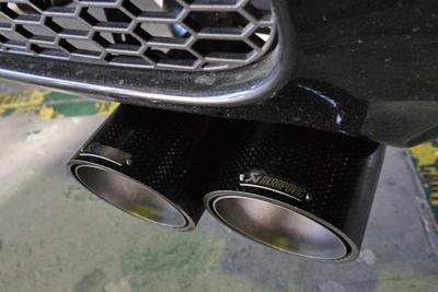 BMW E90 M3 AKRAPOVIC アクラポビッチ Evolutionマフラー装着 岡山