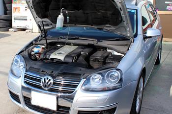 エンジン内部洗浄 AUDI VW 岡山 キャンペーン