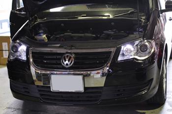 AUDI TT USヘッドライト コーディング, BMW E90車検, VW GOLF6 パドルハンドル交換 岡山