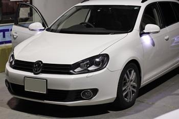 VW GOLF6 ハンドル パドルシフト有効 コーディング 岡山