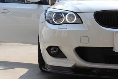 BMW E61 イカリング デイライトコーディング 岡山