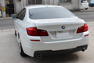 BMW 535 F10 STOPTECH BBK 380×32 6POT取付 香川 岡山
