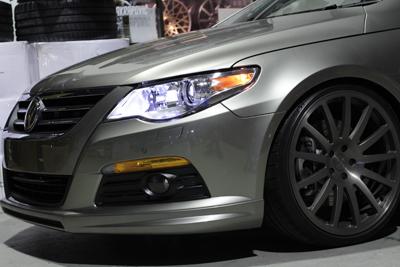 VW PASSAT CC USヘッドライト マーカー 岡山 ドレスアップ