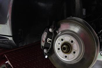 AUDI S4 ブレーキパッド テレビキャンセラー レーダー 岡山