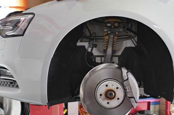 AUDI A5SB KW V2車高調 ローダウン 岡山