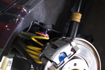 AUDI A6 KW車高調 v2 ローダウン 岡山