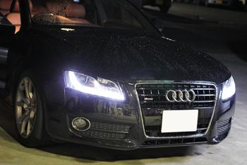 AUDI A5 車検 コーディング デイライト 岡山