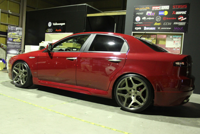 アルファ ALFA ROMEO 159 absolute star u-ccv 岡山 ホイール