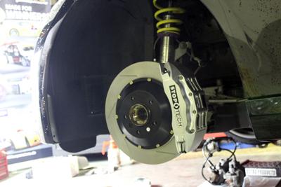 BMW E92 STOPTECH 355 6POT 取付