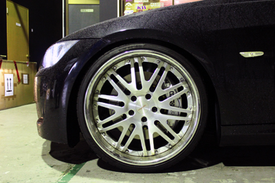 BMW E92 STOPTECH 355 6POT 取付