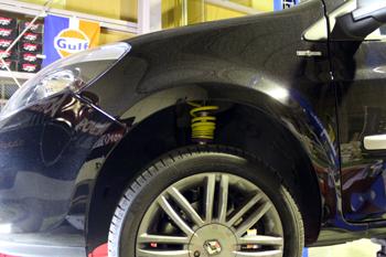 AUDI A5SB JRZ車高調 RENAULT(ルノー) CLIO KW V2車高調