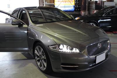 Jaguar XJ テレビキャンセラー
