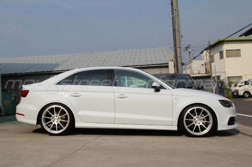 AUDI A3 sedan neutrale wheels KW V2車高調 cpm 034マウント