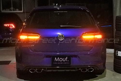 VW GOLF7R フェイスリフト7.5 ダイナミックウィンカー テールライト交換