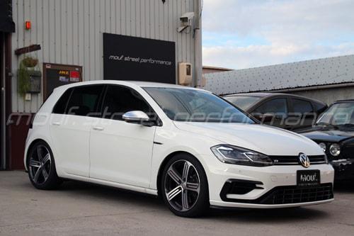 VW GOLF7.5R KW V3車高調、034、cpm,APRインストール