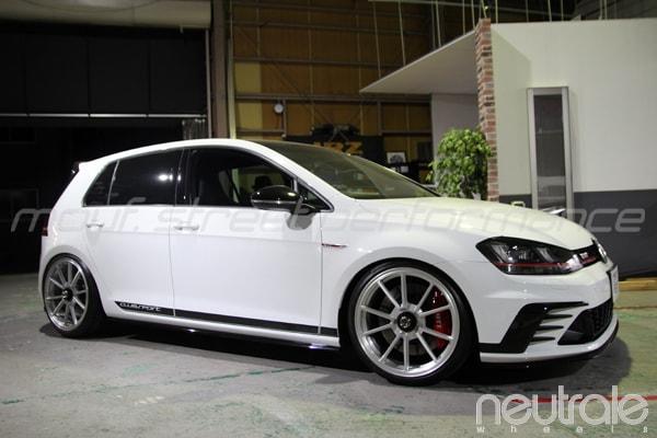 VW GOLF7gtiクラブスポーツneutrale VS5 センターロック、AUDI TT KW V3車高調、BMW F30コーディング