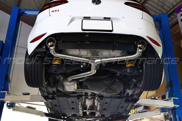 VW GOLF7 gtiクラブスポーツ APRエキゾースト音