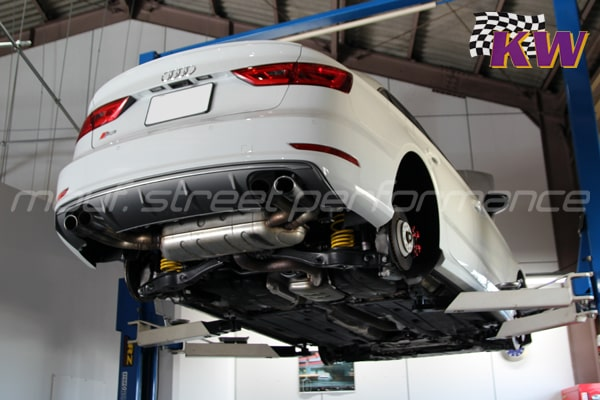 AUDI S3sedan KW V1車高調 VW GOLF7 GTi メンテナンス