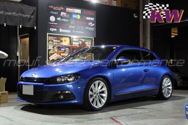 VW シロッコ KW V1車高調  VW シロッコR APRソフトウエアーインストール