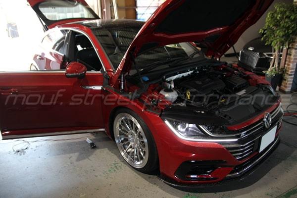VW ARTEON APRステージ1 ソフトウエアーインストール AUDI S1 ワグナーインタークーラー