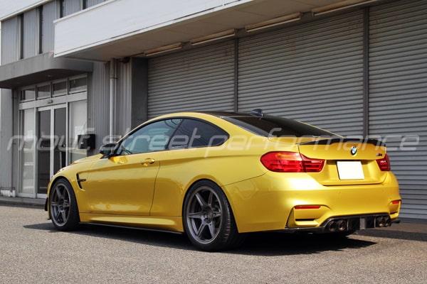 BMW M4 neutrale SP6 mono 19インチ マセラティグランツーリスモMC KW V3車高調