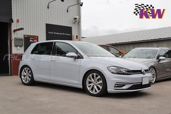 VW GOLF7.5 KW V2車高調 LUBIRDオイル製品説明