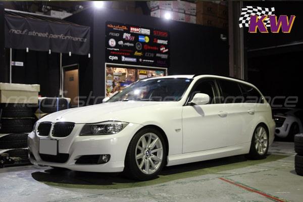 BMW E91 KWV3車高調 AUDI A3車検 各車コーディング他