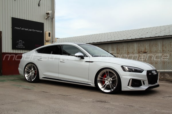 AUDI B9 RS5sb  KW V3車高調 neutrale wheels RC5 21インチ 295-25-21