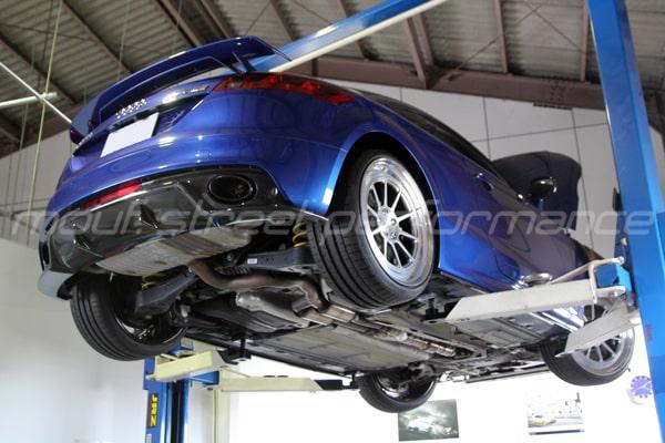 AUDI TTRS plus APRステージ2
