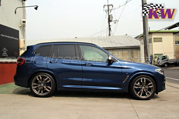BMW X3 M40d G01 KW V3車高調 AUDI S1メンテナンス他