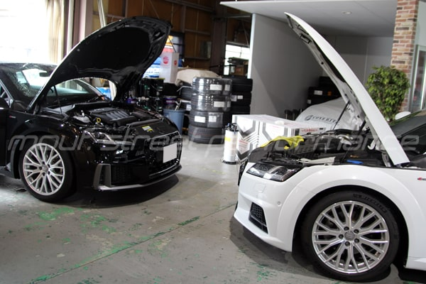 AUDI A3 KW V1車高調 AUDI TT A7   オイル交換、コーディング