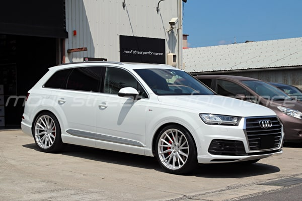 AUDI Q7 vossen wheels conti6 BMW AUDI VW車検整備