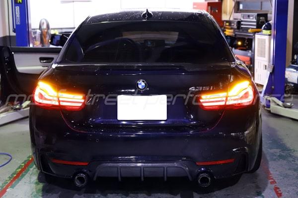 BMW 435グランクーペLCIテール VW PASSAT ナビナビ取り付け BMW Z4 F10