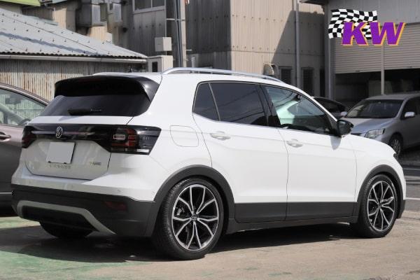 VW T-CROSS KW V1車高調 AUDI SQ5 APRインストール プロテクションフィルム アルファード、E92 M3 、BMW コーディング