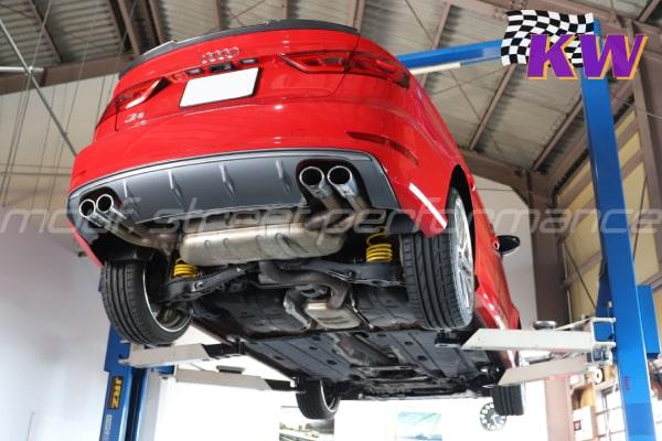 AUDI S3sedan KW V3車高調 BMW MINI ドライビングモードスイッチ