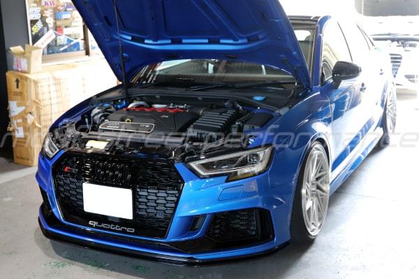 AUDI TTS 8J マフラー交換 VW GOLF7GTi CS  AUDI RS3sedan 車検